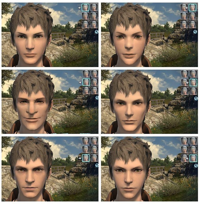 顔パターン
