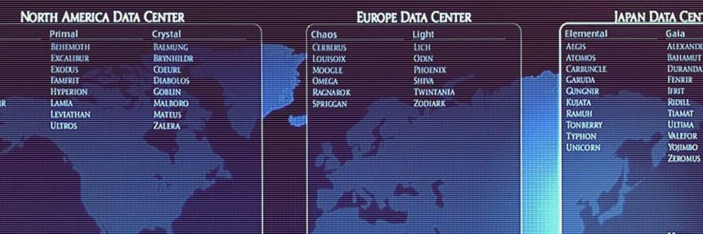 FF14初心者向け データセンターとワールドの話 2020年春版