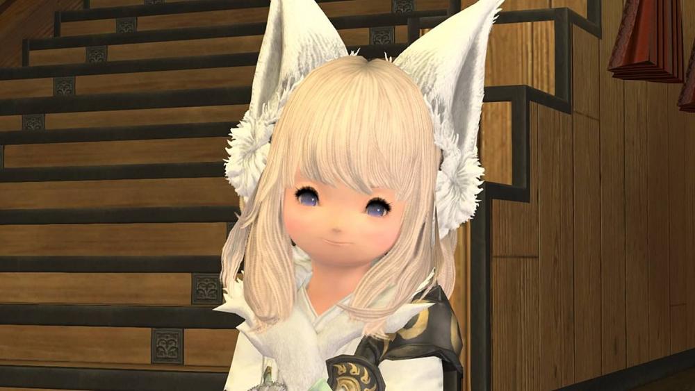 【幻想薬】ララフェル女 顔2 たぶん量産型